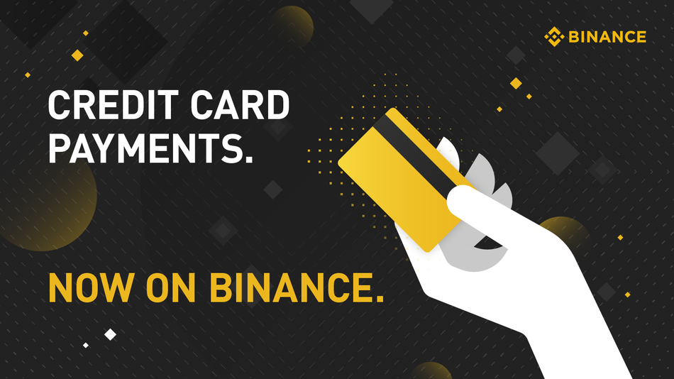 Credit Card Payments on Binance