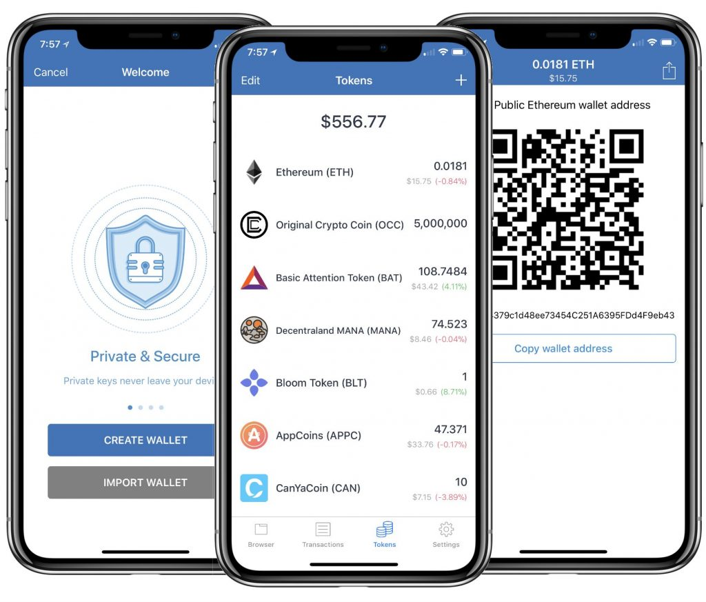 Mobile Ethereum Wallet