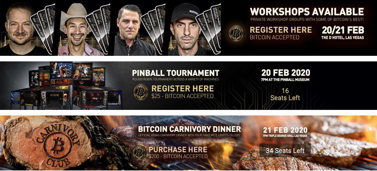 """The Unconfiscatable """"Bitcoin Not Blockchain"""" Conference Is Back"""