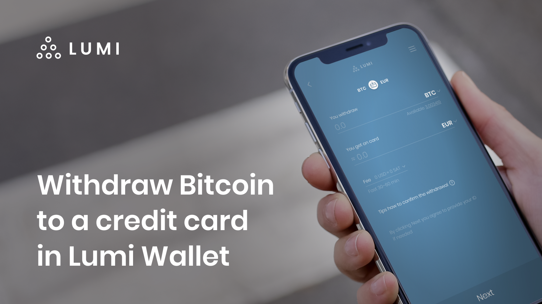 withdraw bitcoin to a credit card